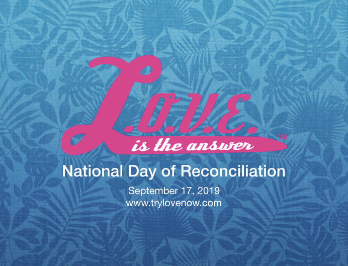 NO LONGER AVAILABLE – National Reconciliation Day – September 17, 2019