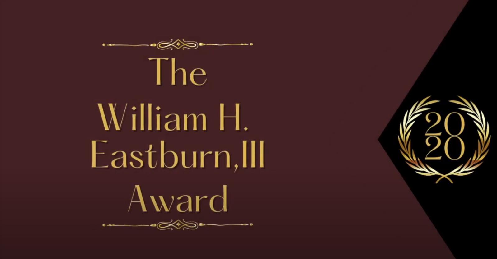 L.O.V.E. Is The Answer Receives 2020 William H. Eastburn III Award